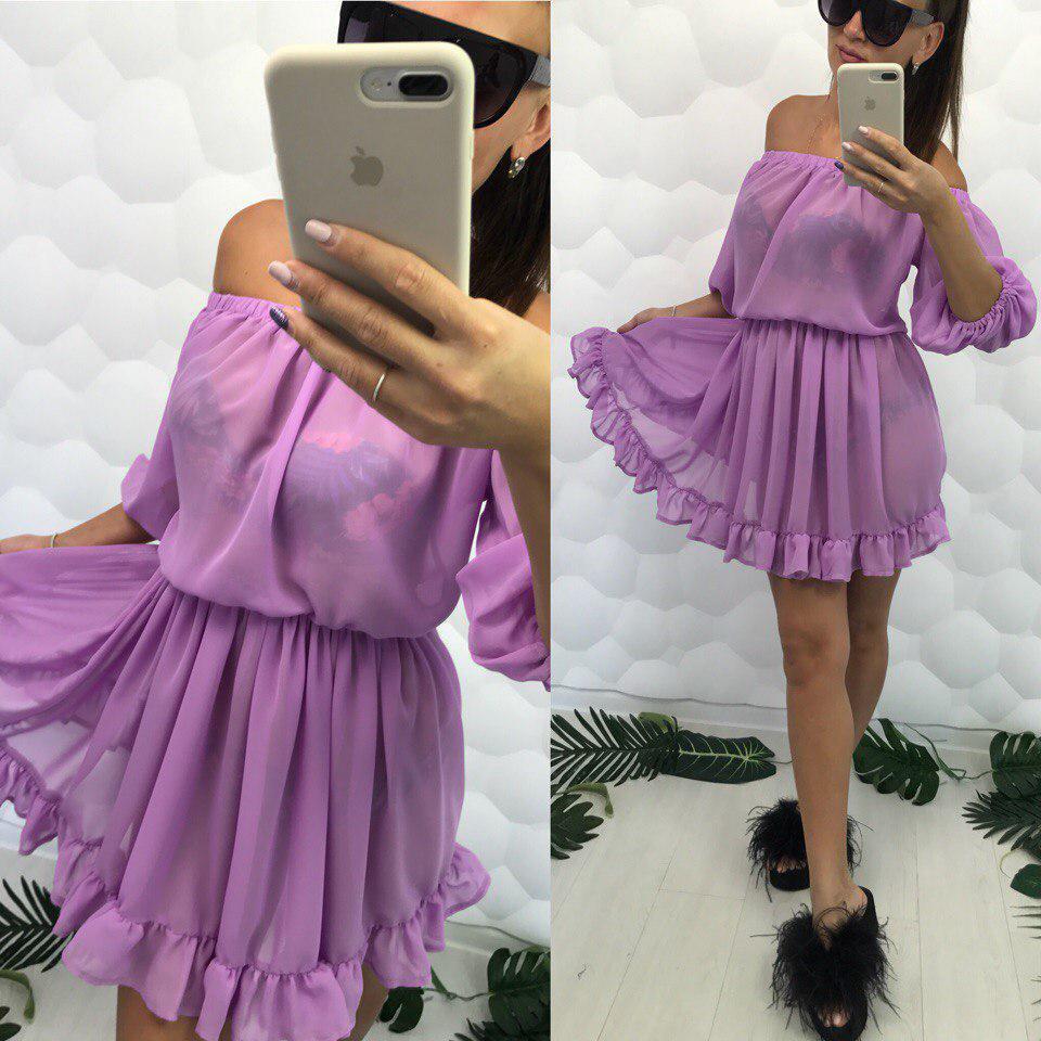52e62ca3e4a Шифоновое пляжное платье-туника - PARADISE ...с нами модно в Одессе