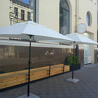 """Зонт """"Майами"""" 2х2м для пляжа и кафе, с функцией наклона купола"""