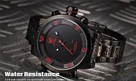 Мужские часы Shark Digital LED Date Day Army, минеральное стекло, фирменная коробочка, фото 1