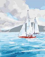 Картины по номерам на холсте Ласковое море