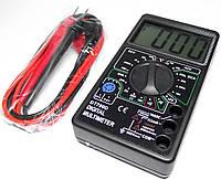 Компактный цифровой мультиметр DT-700D, электроизмерительные приборы, амперметры, вольтметры, прозвонка, фото 1