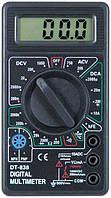 Цифровой мультиметр DT-838, тестер, прозвонка проводов, инструменты электомонтера, фото 1