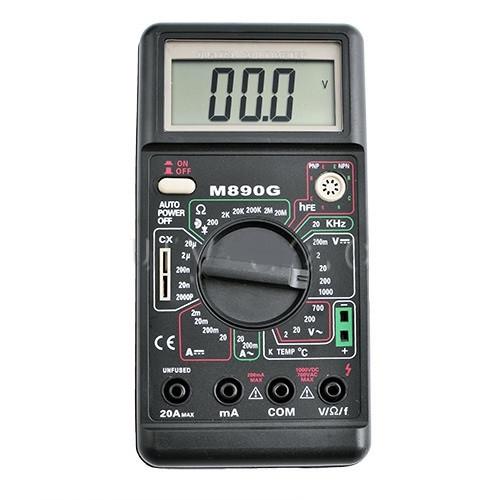 Мультиметр цифровой M-890G, мультитестеры, тестеры, прибор электрика