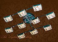 Потолочная светодиодная люстра 3780/10, фото 1