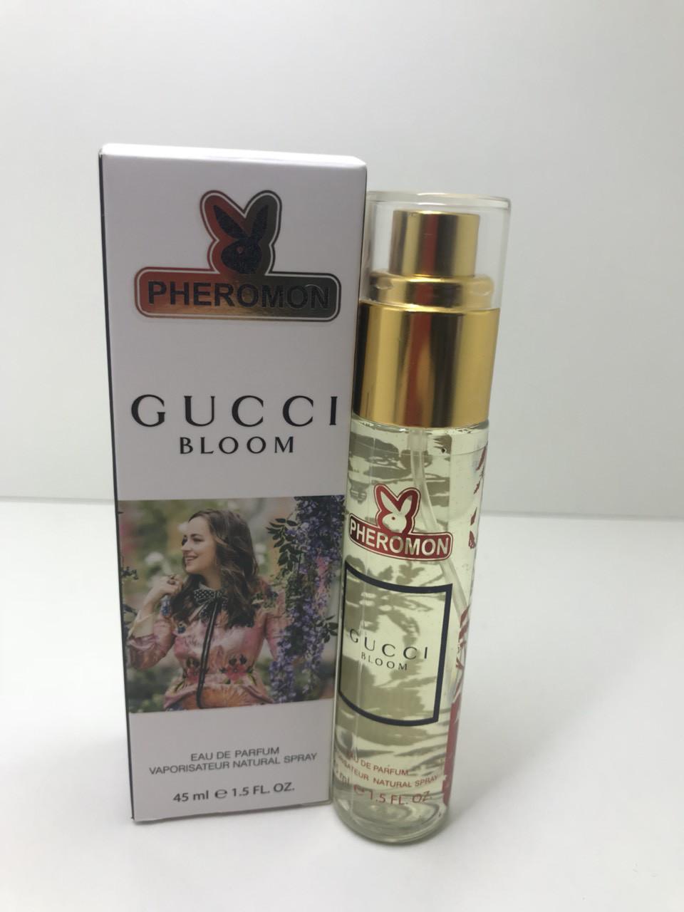женский мини парфюм с феромонами Gucci Bloom гуччи блум45 мл цена