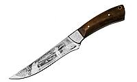"""Нож охотничий """"Охота"""", с чехлом из кожи, ножи для охоты и рыбалки"""