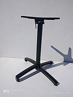 Опора для стола из алюминия чёрного цвета Е-9051