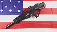 Автомат игрушечный Питон Python MG7, стреляет разрывными водяными пулями и присосками, игрушечное оружие