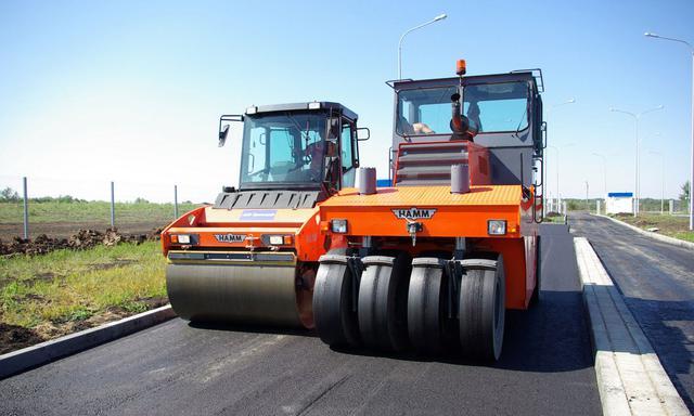 Фото дорожной спецтехники