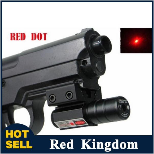 Лазерный цеуказатель ЛЦУ, красный лазер, компактный, крепление Вивера прицелы на оружие