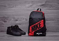 Рюкзак Найк Nike, повседневная носка, влагоотталкивающий, сумка, портфель, спортивная амуниция