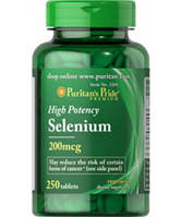Селен SELENIUM 200 mсg 250 таблеток