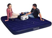 Двухспальный надувной матрас Intex 68755, антискользящее покрытие, размер 203х183см, надувные матрасы, Интекс