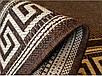 """Безворсовый ковер-рогожка """"Элегант"""" - цвет - коричневый, фото 4"""