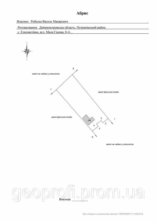 Программу для площади участка