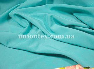 Ткань бенгалин голубая бирюза