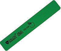Пилки для ногтей SALON PROFESSIONAL (120/220) широкие, зеленые, полировки, Fruit Series