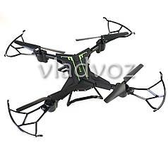 Радиоуправляемый квадрокоптер 2,4 gz Led 4 винта drone CX-40 черный