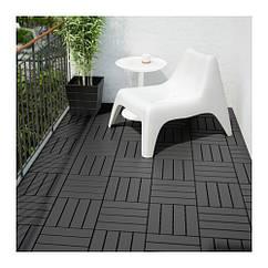 Настил IKEA RUNNEN 0.81 м² темно-серый 902.381.11