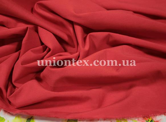 Ткань бенгалин красный, фото 2