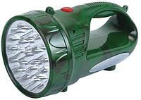 Фонарик аккумуляторный Yajia YJ-2803, зарядка от сети, бытовой фонарь, ручные фонари