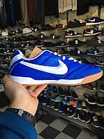 Мужские футзалки Nike Tiempo синие 41-46р