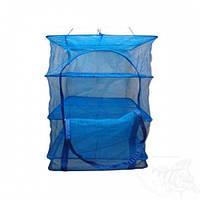 Каркасная сетка для сушки рыбы, грибов, овощей и фруктов 50х50х55. Каркасная конструкция, сушилка для рыбы