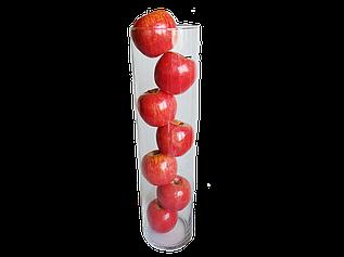 Декоративные красные яблоки в вазе