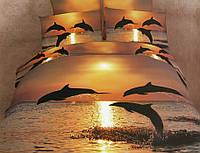 Комплект постельного белья La scala сатин 3d ABС-267