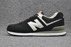 Кроссовки New Balance 574 Black White
