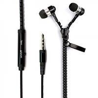 Наушники змейка с микрофоном C-803