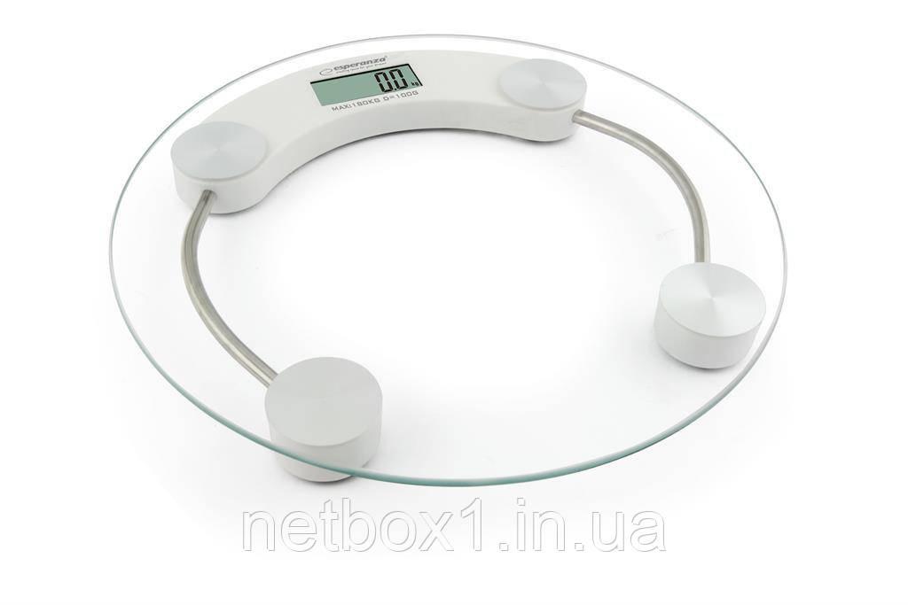 Весы напольные Esperanza EBS007W Jukari White