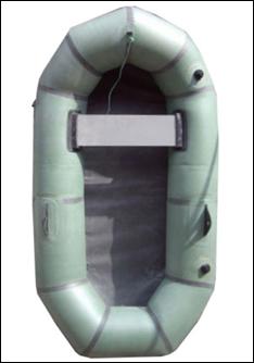 """Надувная резиновая лодка """"Эрлан""""1,5  Лисичанка, полтораместная"""