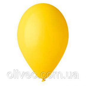 """Кулі повітряні оптом жовтий пастель """"Gemar"""" 3"""" (8 див.) 100 шт/уп."""