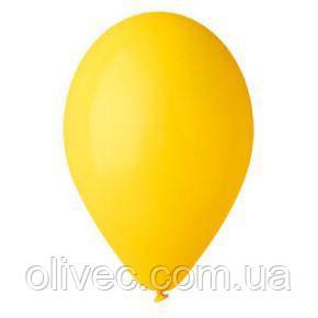 """Шары воздушные оптом желтый пастель """"Gemar"""" 12"""" (30 см) 100 шт./уп."""