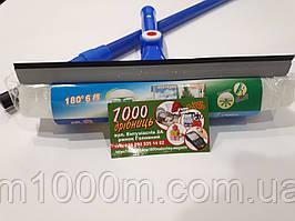 Окномойка с поворотом, телескопическая ручка 110 см