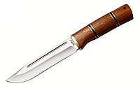 Нож охотничий 2285 W, чехол в комплекте, рукоятка из красного дерева, ножи для охоты, амуниция охотника