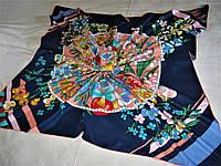 Платок Fendi шёлк 100% можно приобрести на выставках в доме одежды Киев