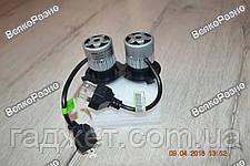 Автомобильные светодиодные лампы дальнего и ближнего света S2 H4, фото 2