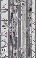 Обои виниловые на флизелиновой основе BN International 219270 SmallTalk детские стволы деревьев 0,53X10,05