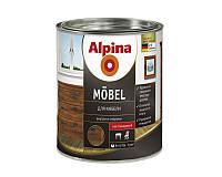 Лак алкидный ALPINA MOBEL универсальный, глянец, 0,75л
