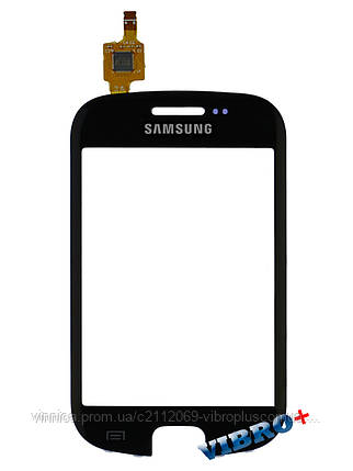 Тачскрин (сенсор) Samsung S5670 Galaxy Fit, black (черный), фото 2
