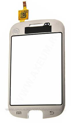 Тачскрин (сенсор) Samsung S5670 Galaxy Fit, silver (серебристый), фото 2