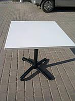 Квадратный  алюминиевый стол 70 х 70 см. для ресторана, кафе и летней площадки