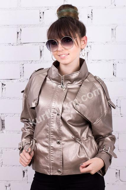 Куртки и жилетки из экокожи