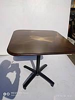Квадратный  алюминиевый стол 73 х 73 см. для ресторана, кафе и летней площадки, фото 1