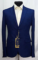 Молодёжный костюм цвета индиго Palmiro Rossi 6001
