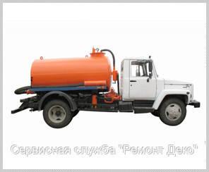 Прочистка канализации в Черкассах, услуги ассенизатора Черкассы