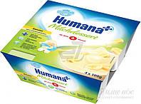 Кисломолочный продукт Humana с бананом и натуральными пребиотиками 4x100 г (4031244701091)