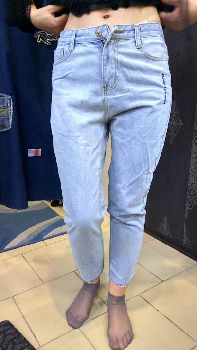 691773aa8b9 Джинсы женские МОМ светлые (L . XL) - Интернет - магазин JEANSTON в  Полтавской